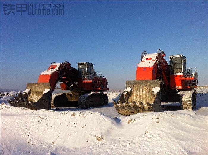 不太多见的正铲挖掘机 BONNY CED1000-7