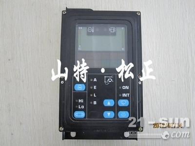 小松挖掘机pc110-7仪表盘压力咋调