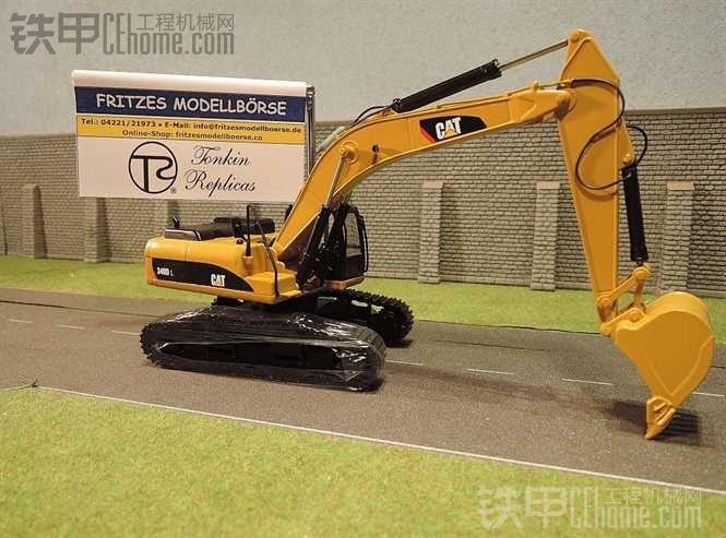 卡特 340DL 挖掘机模型