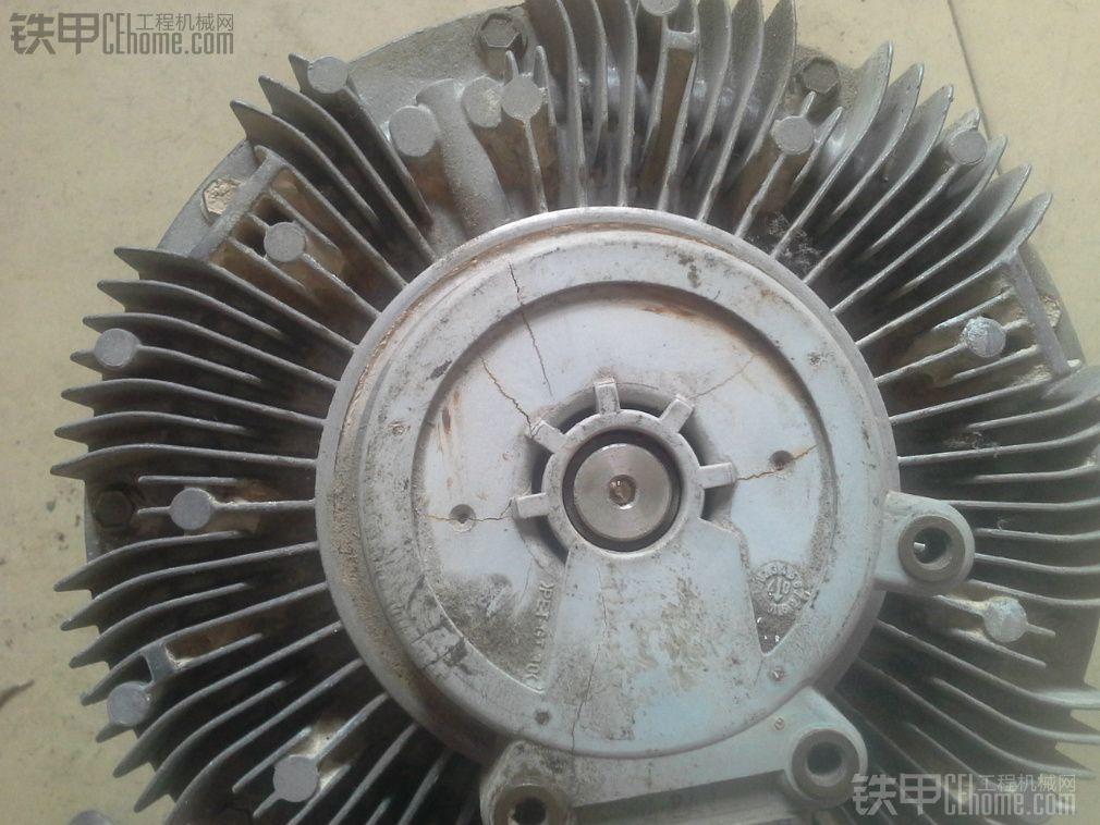 卡特320d挖掘机风扇硅油离合器