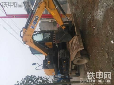 徐工85c提车作业(贵州遵义)
