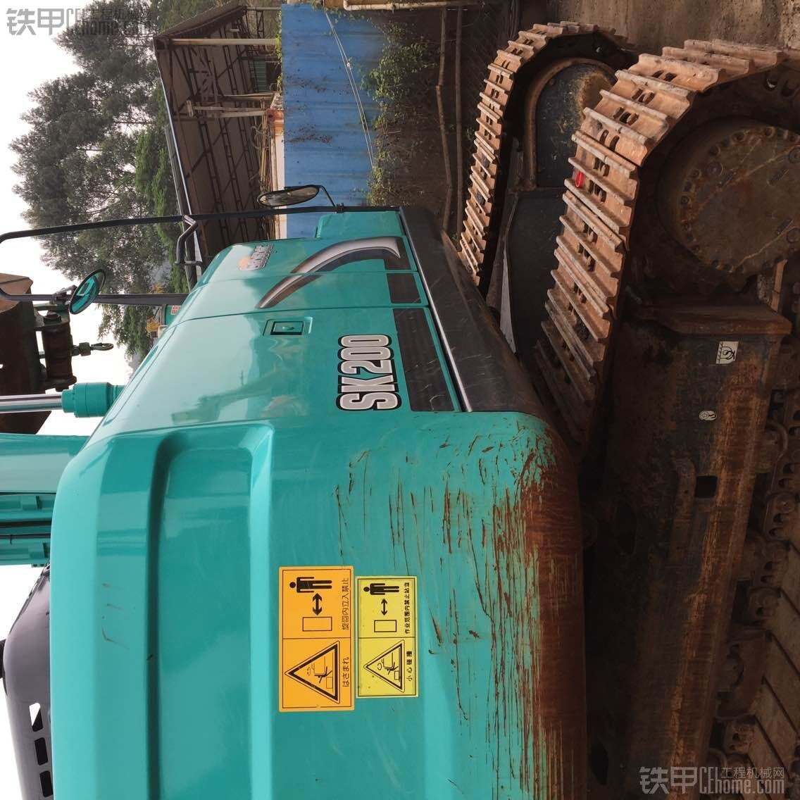 神钢 SK200超8 二手挖掘机价格 73万 2200小时
