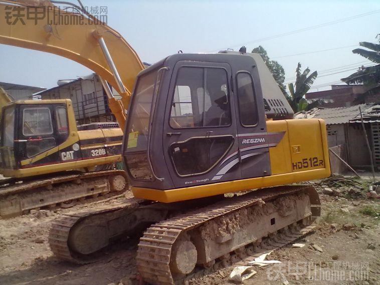 加藤 HD512 二手挖掘机价格 37万 3000小时