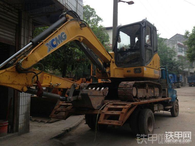 三一挖掘機155提車作業-帖子圖片