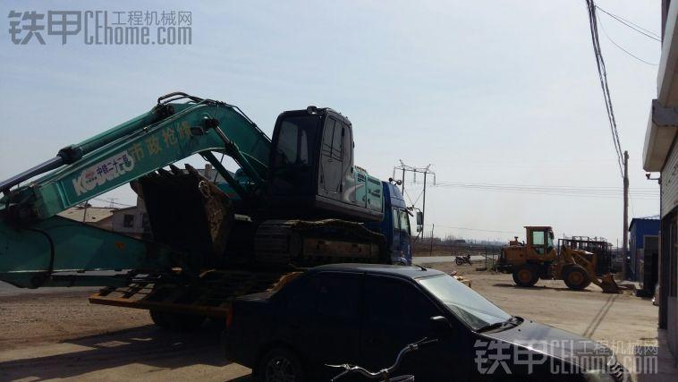 大挖掘机板车