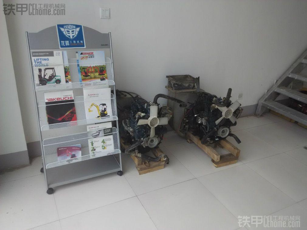 全新 久保田15挖掘机配套发动机两台