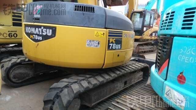 小松 PC78US-6NO 二手挖掘机价格 25万 2515.1小时