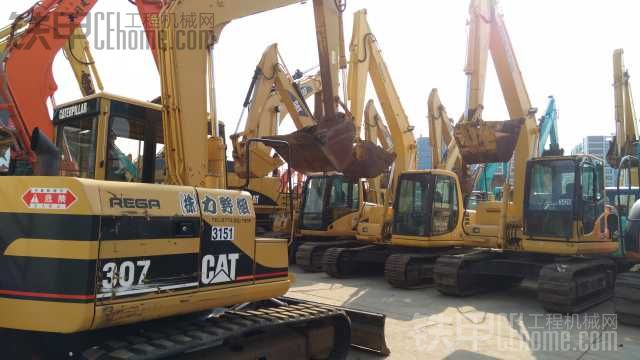 卡特彼勒 307 二手挖掘机价格 40万 3239小时