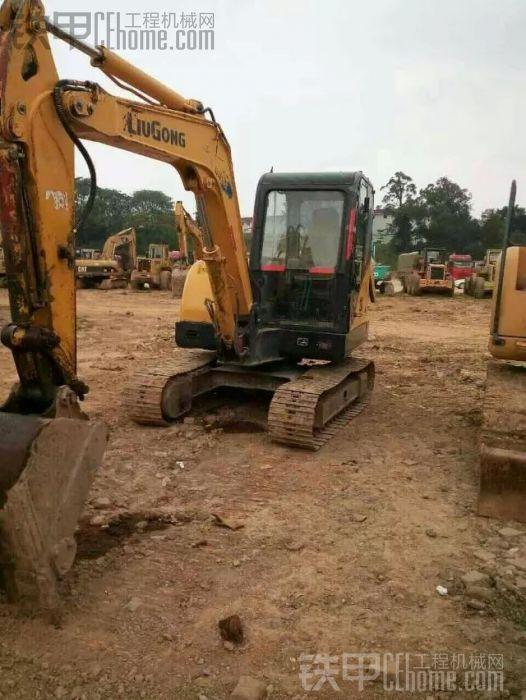柳工 906C 二手挖掘机价格 8.5万 8000小时