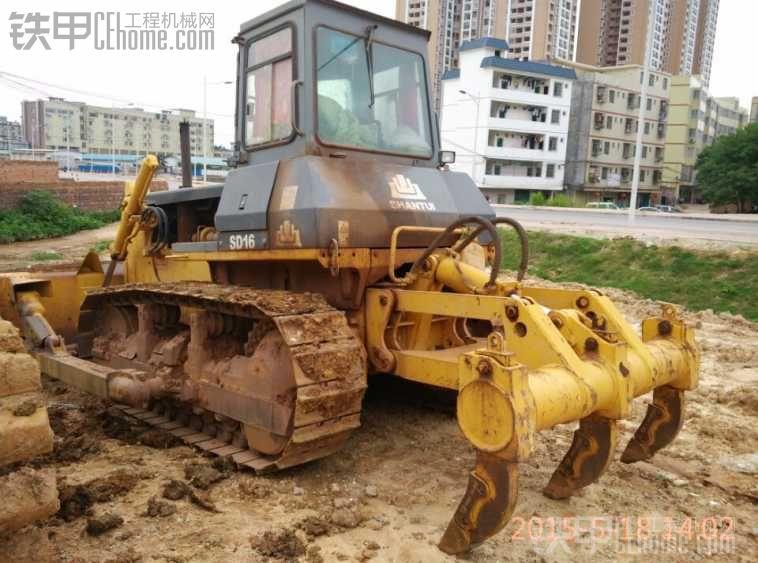 推土机不好做准备转挖机。
