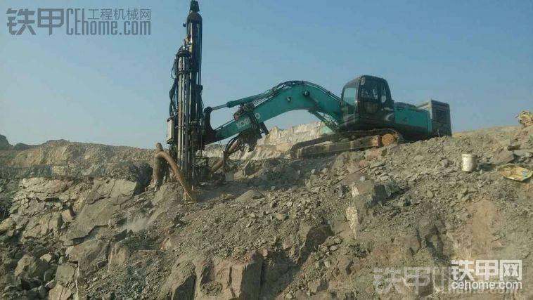 谁说挖改钻机不如一体机,照样可以高!大!上!