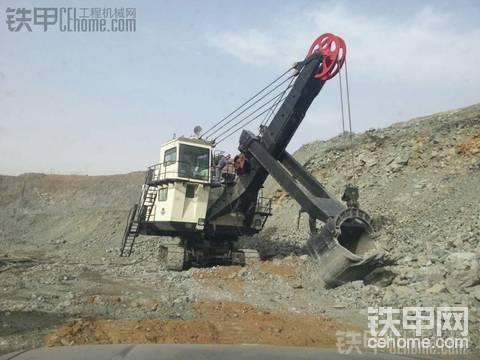 撫挖電鏟5立方在本溪礦山