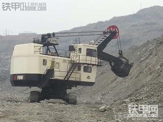 抚挖电铲5立方在本溪矿山