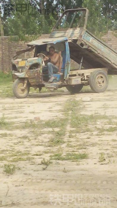 (好靓)的三轮渣土车