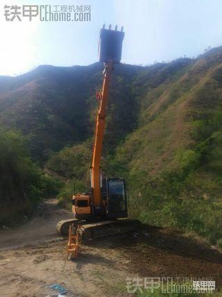 三一SY135-9C挖掘机250小时使用报告