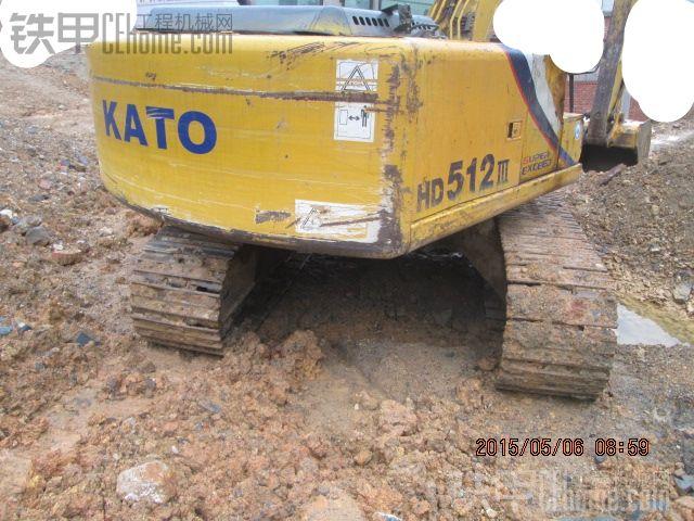 加藤 HD512 二手挖掘机价格 33万 11000小时