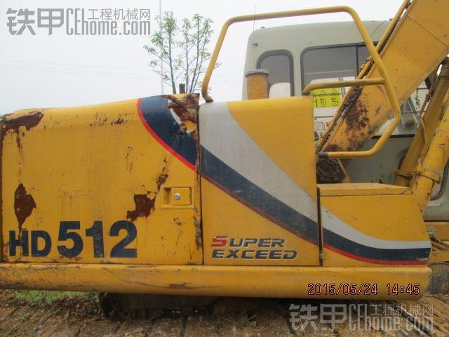 加藤 HD512 二手挖掘机价格 21万 10000小时