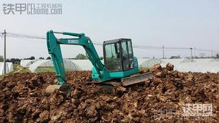 神钢SK60-8挖掘机500小时作业报告