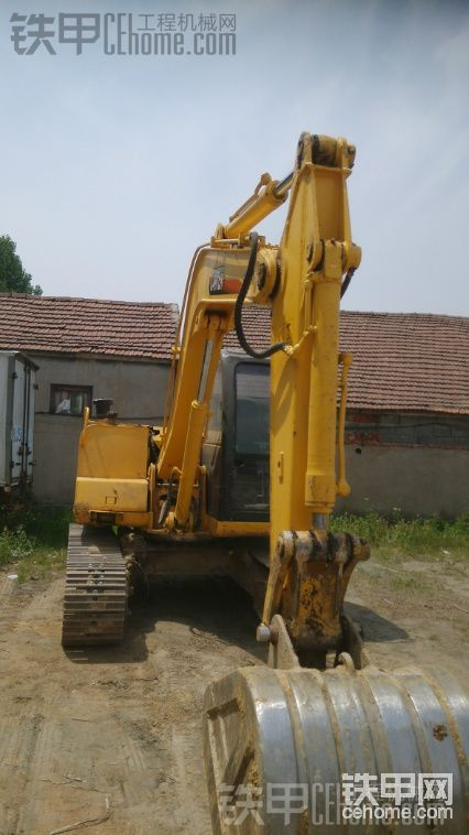 卡特重工 CT85-7B 二手挖掘机价格 12万 6000小时帖子图片