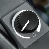 油门旋钮很轻松