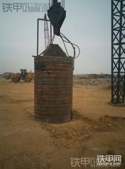 30吨重的钢板组合锤,新做的。