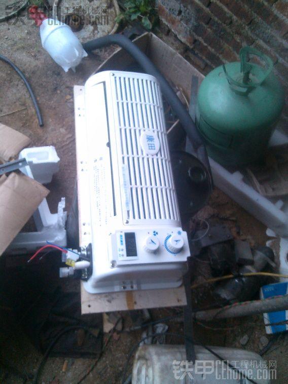 工程机械空调的安装