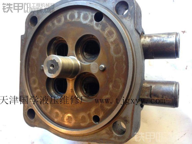 关于液压泵壳体维修图片