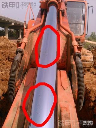 【维修记录】 斗山DH225LC-7 挖掘机换中臂油封