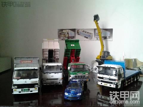 我的日本重機運輸车隊(有)。。。