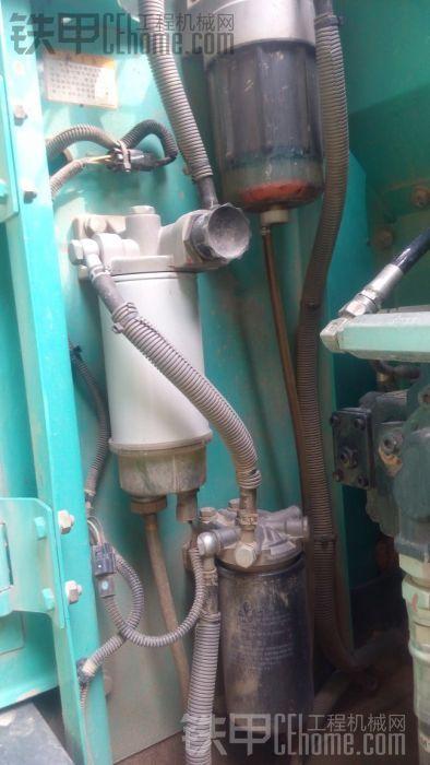 三道柴油虑清让杂质过滤的干干净净。设计在边门旁边每次保养的&#2