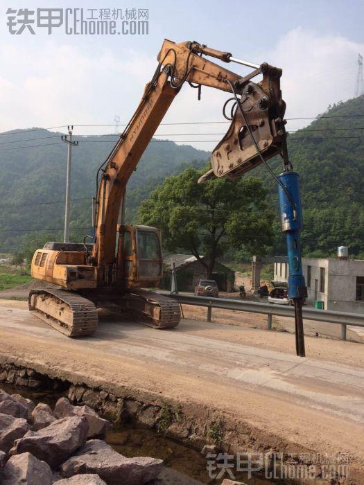 机载劈石器。适合200-230挖机使用