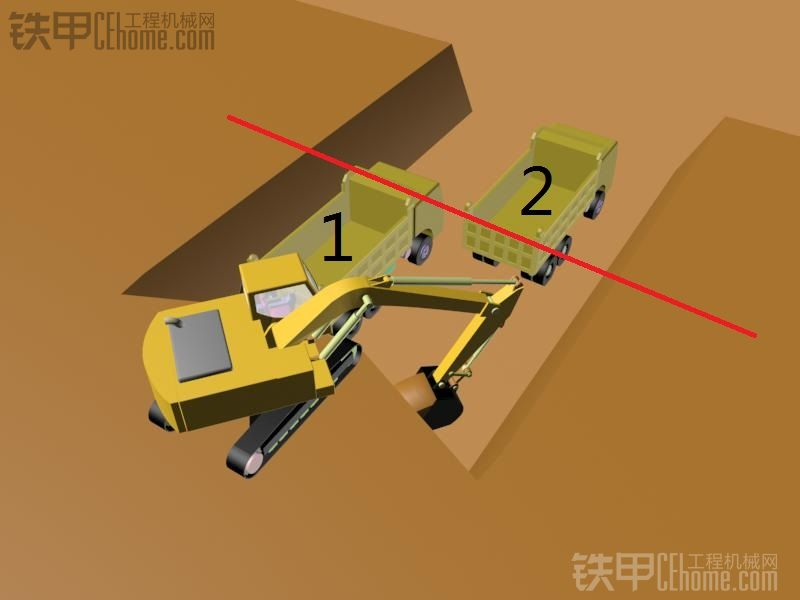【操作技术】复杂地形下的怎么装车更快【原创教程】