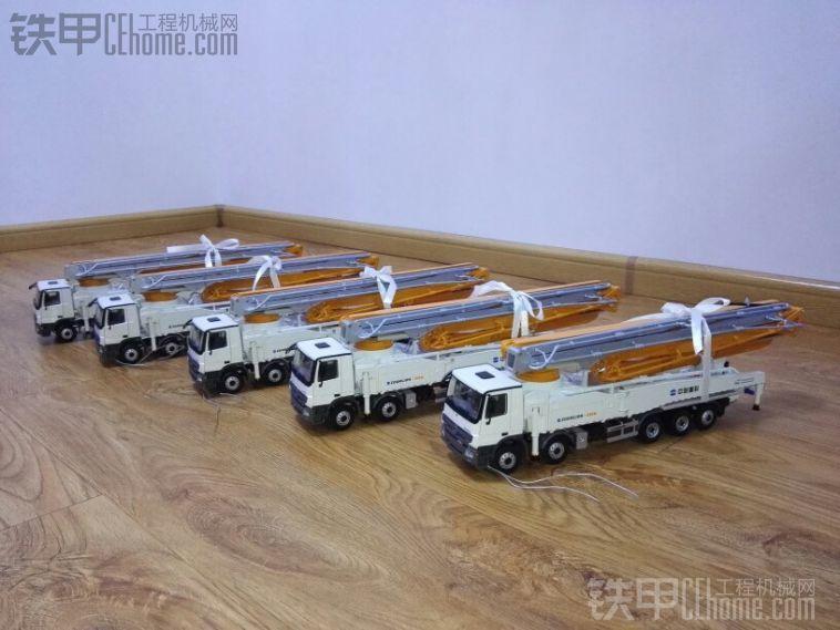 5台全新中联64米泵车