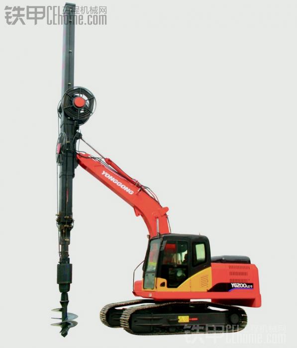 挖掘机改旋挖钻机