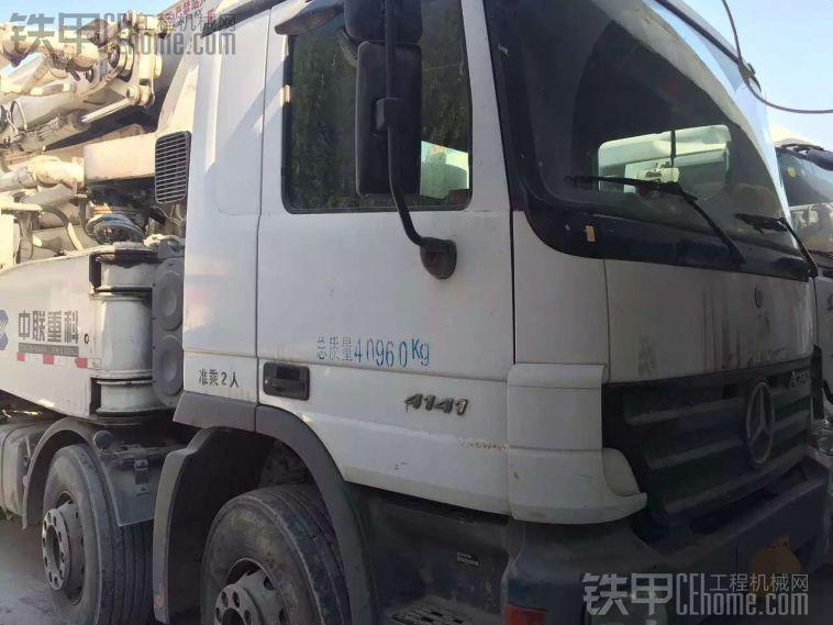 出售09年中联50米泵车 15811188526