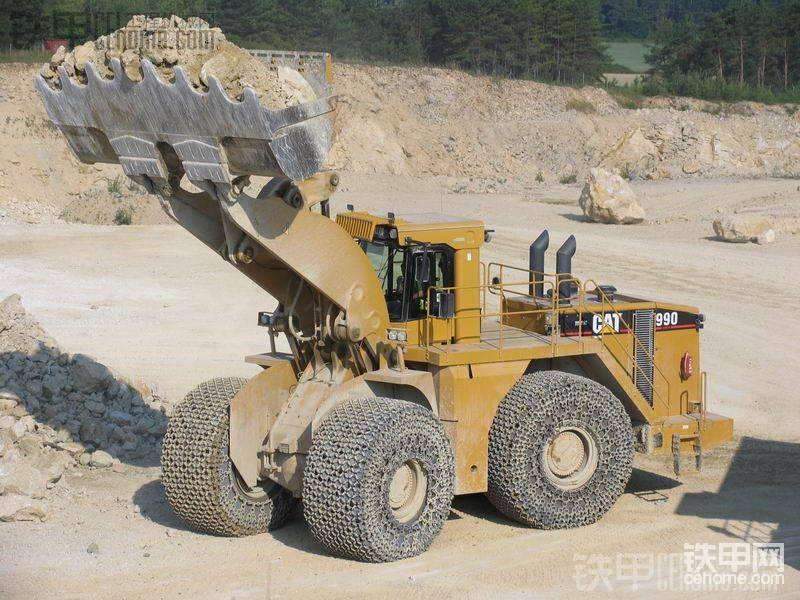 卡特彼勒9立方米大型装载机CAT 990系列全介绍!