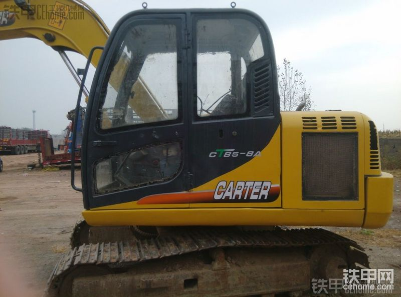 卡特重工 CT85-7A 二手挖掘机价格 9万 7800小时帖子图片