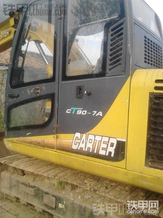 卡特重工 CT80-7A 二手挖掘机价格 10万 7000小时帖子图片