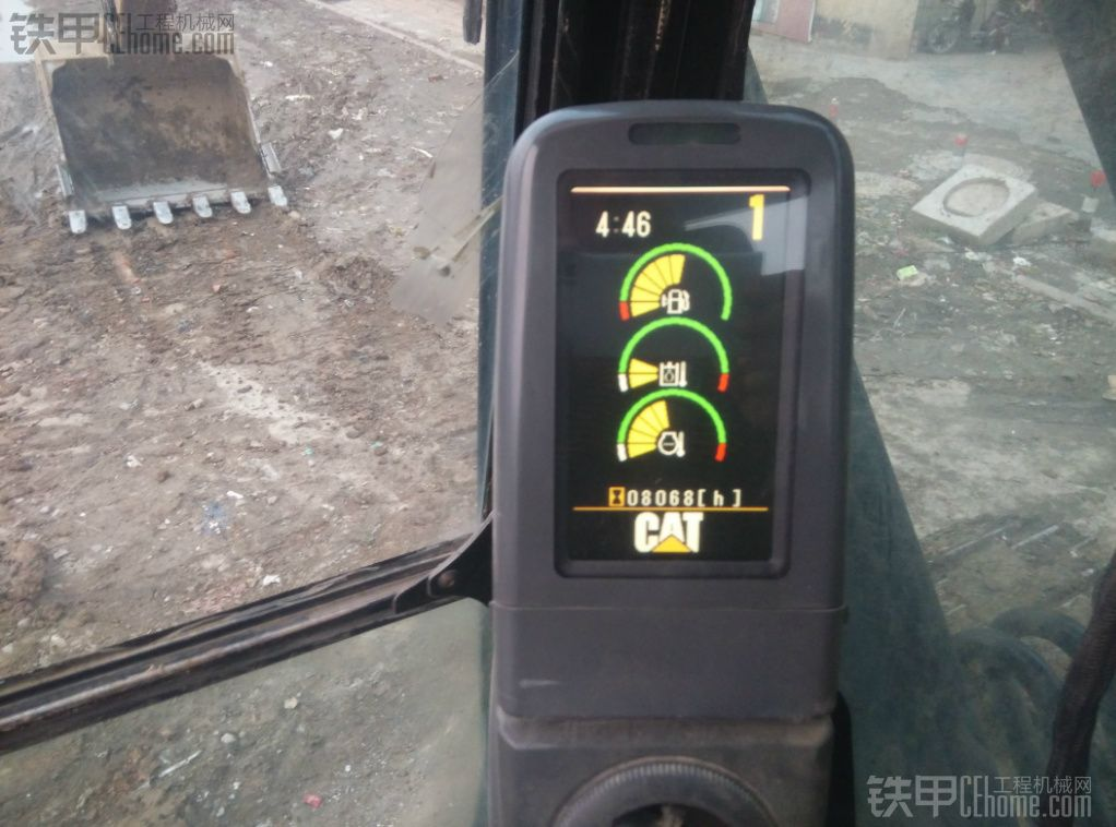 我的卡特320D之坡度智能控制系统