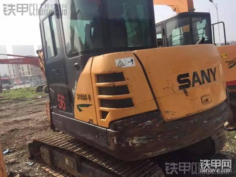 三一重工 SY55C-9 二手挖掘机价格 17万 4800小时帖子图片