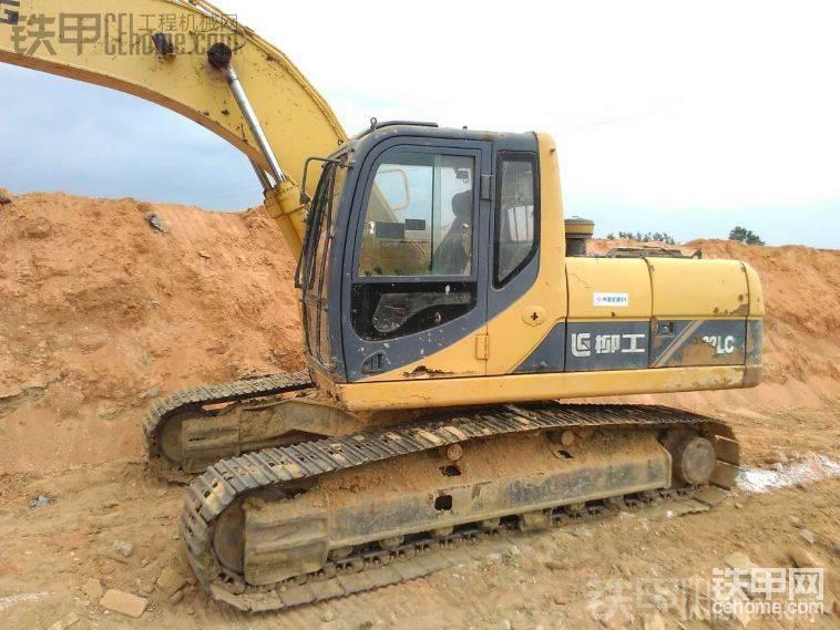 柳工 922LC 二手挖掘机价格 13.8万 9000小时-帖子图片