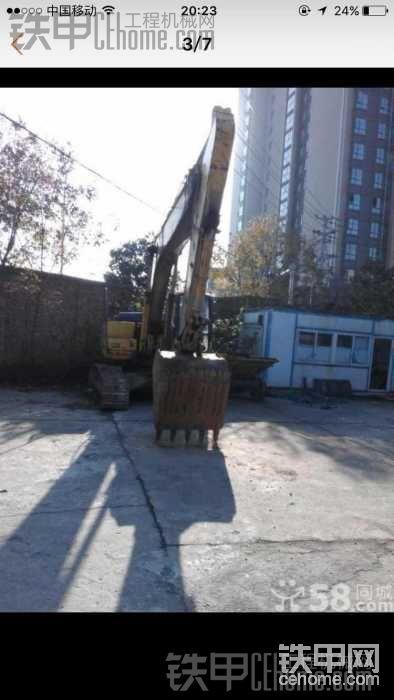 小松PC220-7 挖掘机-帖子图片