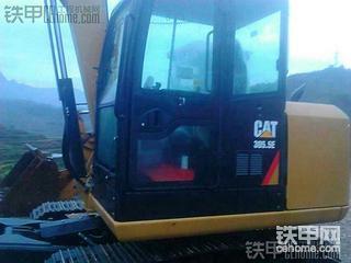 迟来的卡特彼勒307E挖掘机提车报告