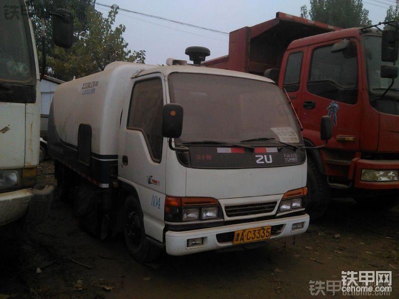 混泥土搅拌站配备设置二手吸尘车-帖子图片