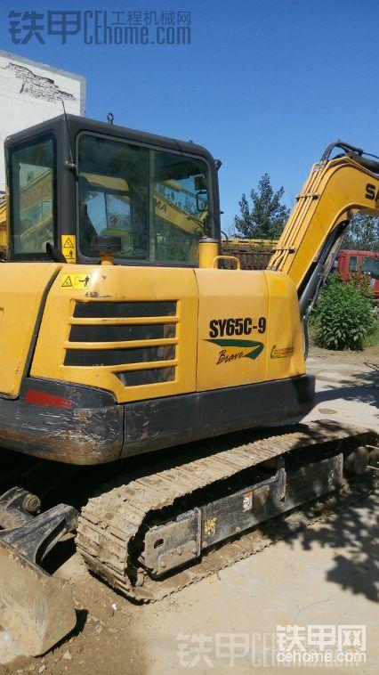 三一重工 SY55C-9 二手挖掘机价格 19万 1370小时帖子图片