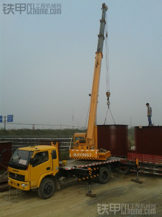 8吨吊车唐骏底盘