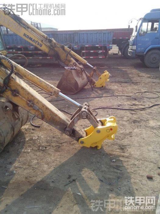 挖机直接上自卸车