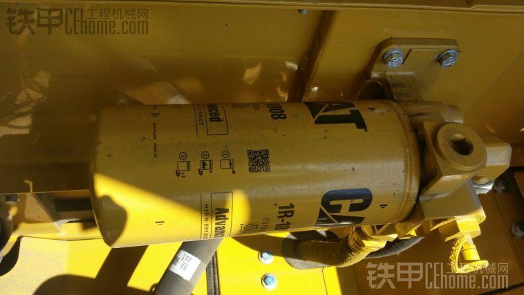 卡特336D2XE挖掘机 内脏照片