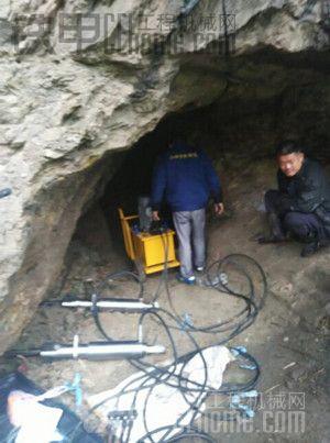 小隧道开采设备