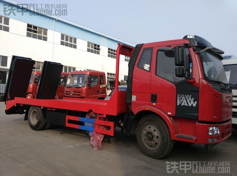 解放J6平板运输车